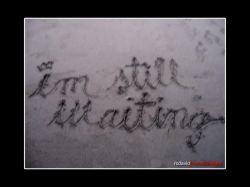 i'm still waiting