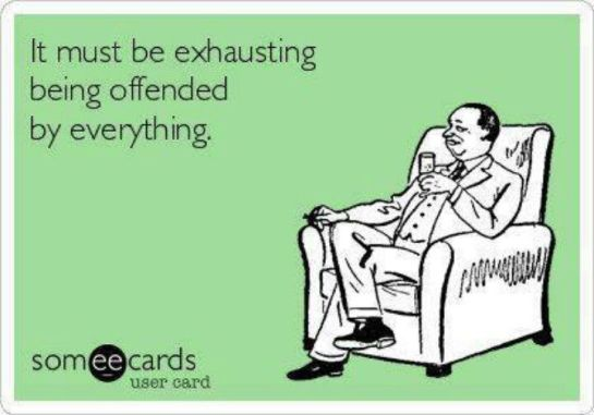 exhausting offend